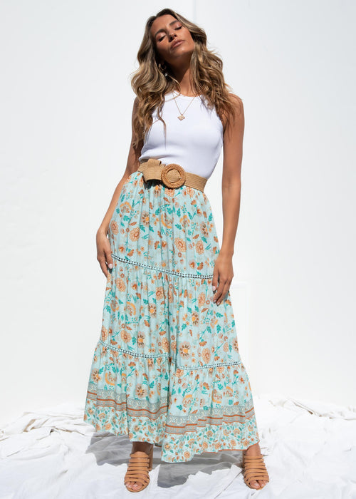 Stellie Maxi Skirt - Spring Bloom