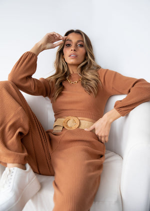 Bryah Knit Set - Rust