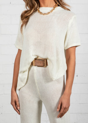 Alexiah Knit Set - Off White