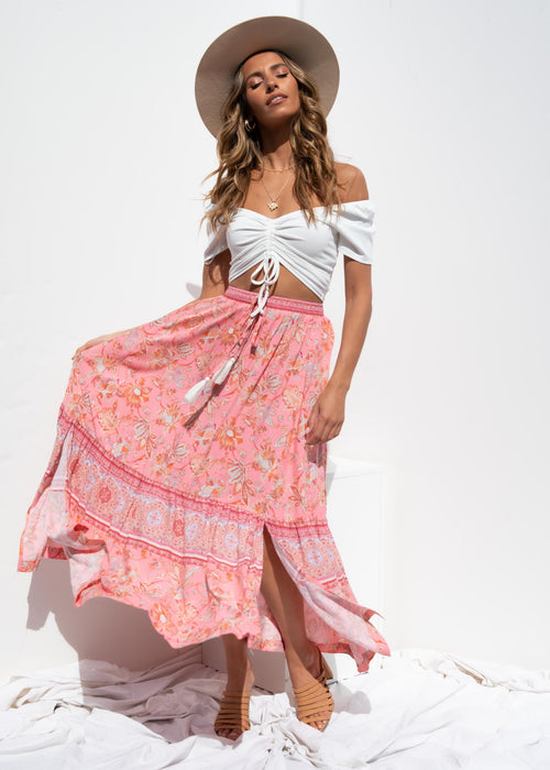 My Future Maxi Skirt - Candy Paisley