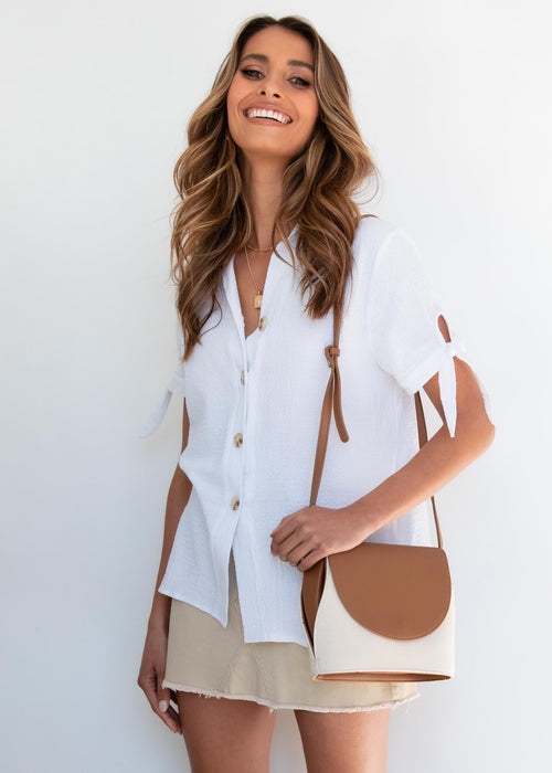 Talk The Talk Blouse - White
