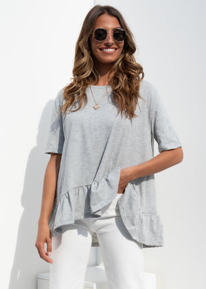 Meet Your Match Top - Grey