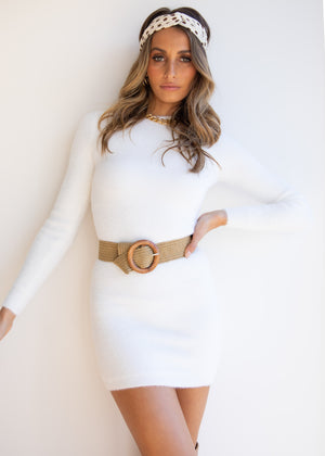 Snow Bunny Dress - White