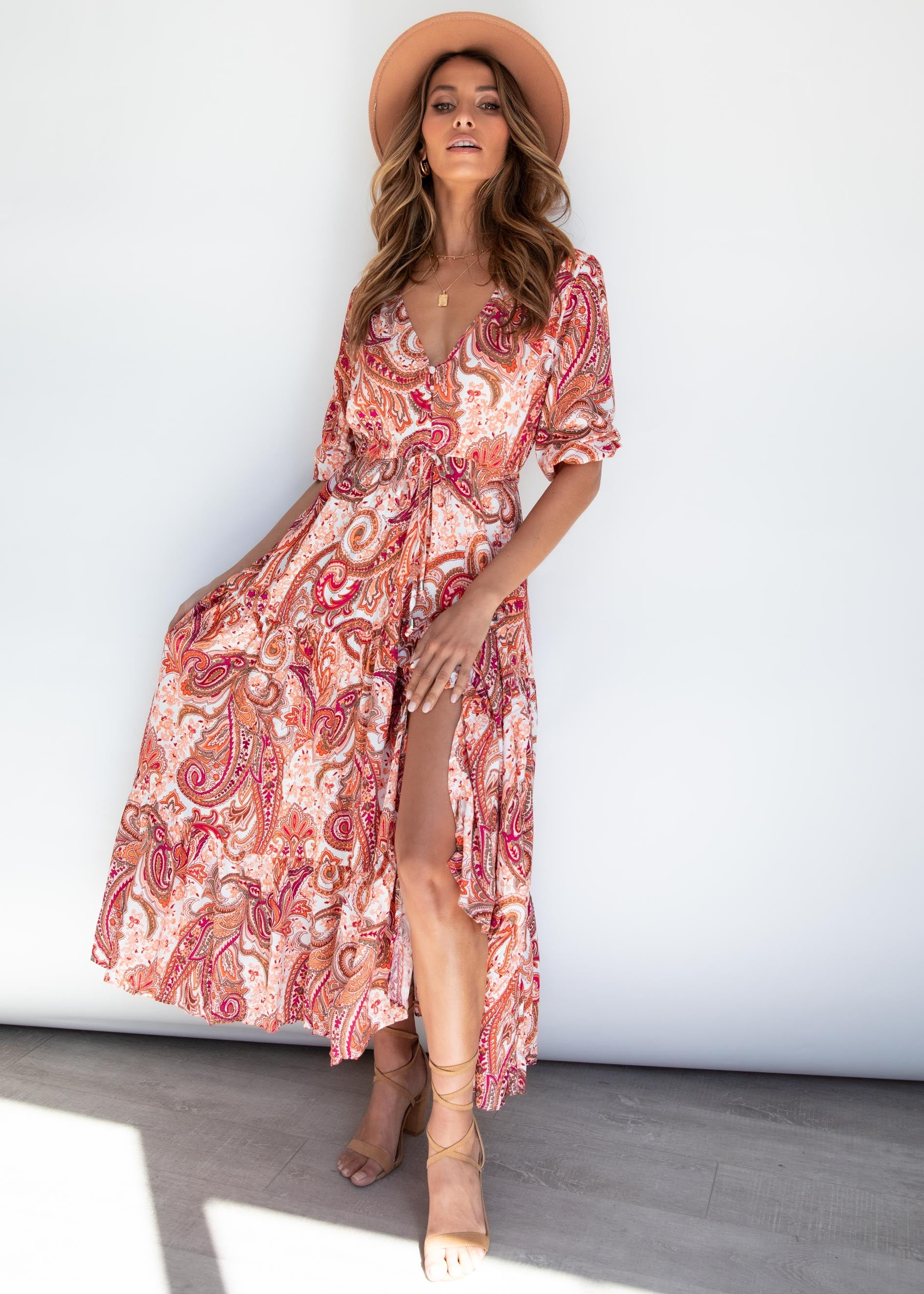 Kimili Maxi Dress - Paisley