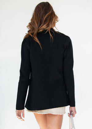 Phillipa Knit Jacket - Black
