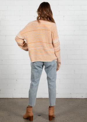 Tied Up Sweater - Rust