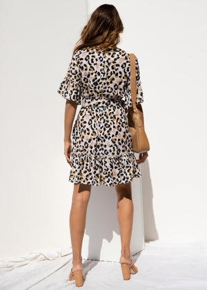 Lisandra Dress - Leopard