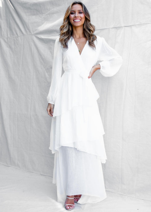 Anya Maxi Dress - White