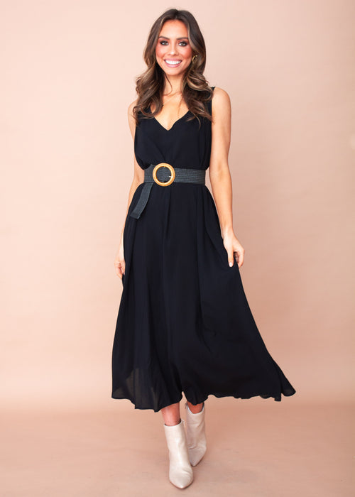 Sarai Maxi Dress - Black