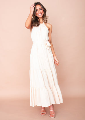 Women's Meera Maxi Dress - Beige