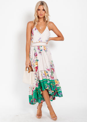 Ronnie Hi-Lo Maxi Dress - Ace