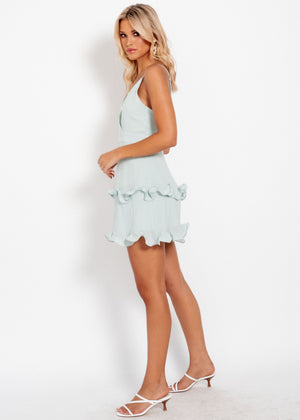 True Feeling Dress  - Sage