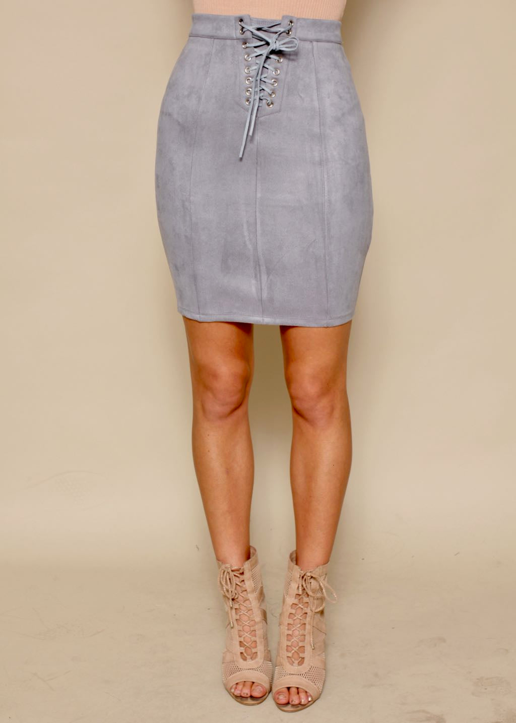 Lost In The Light Skirt - Ice Blue