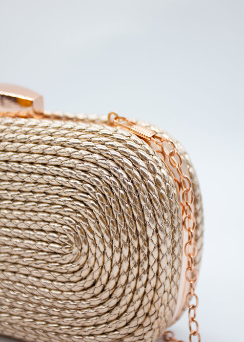 Serendipity Clutch - Rose Gold