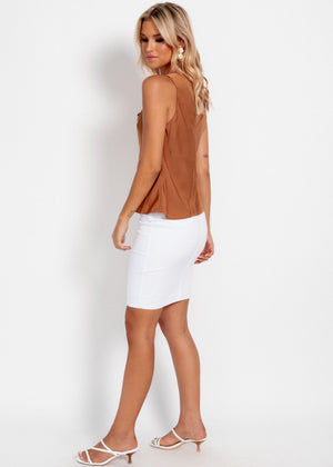 Tia Skirt - White