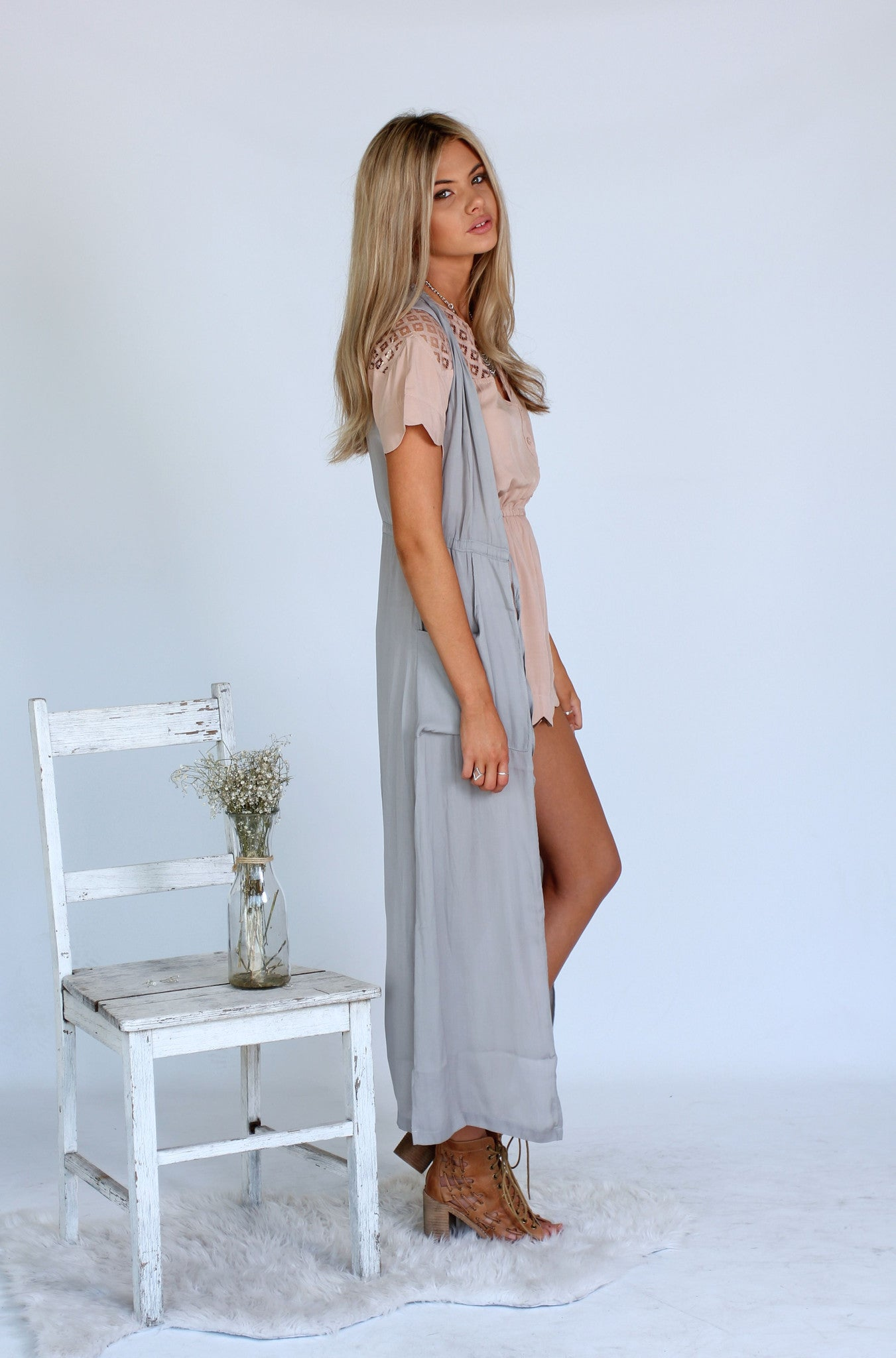 Unstoppable Maxi Vest - Grey