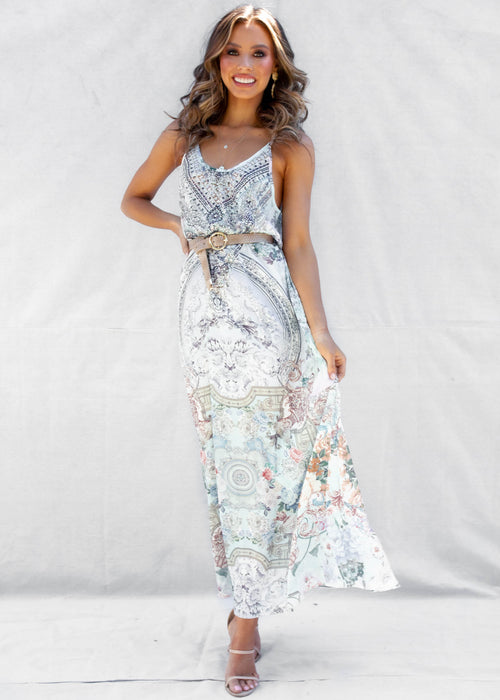 This Is Paradise Maxi Dress - Tuscany