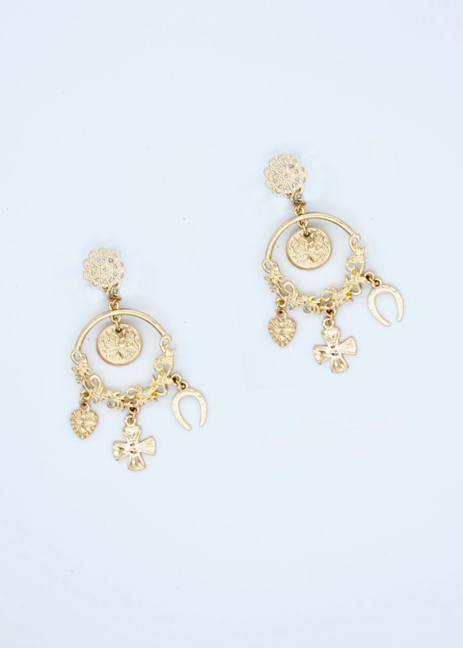 Nile Earrings - Gold