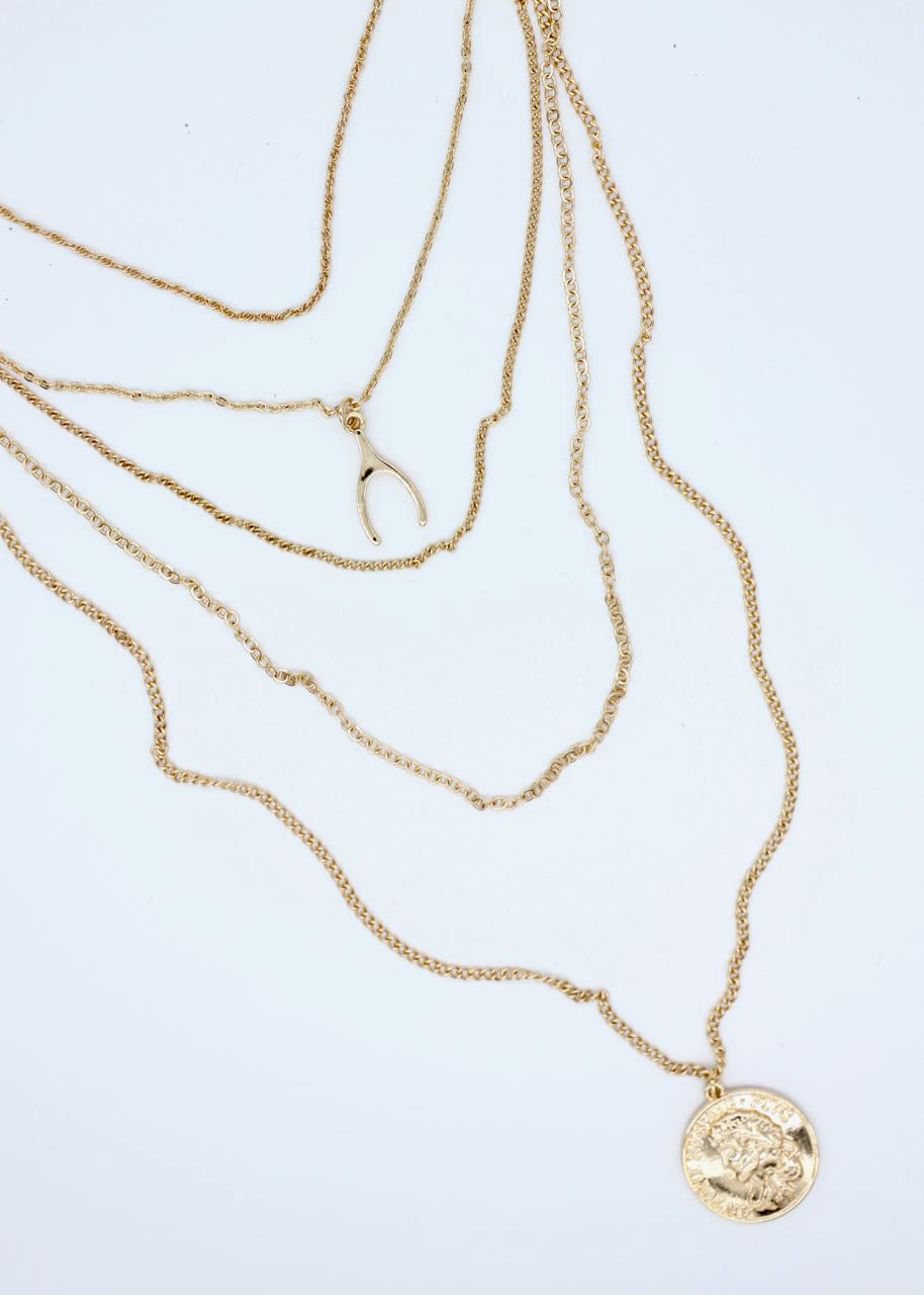 Freya Necklace - Gold