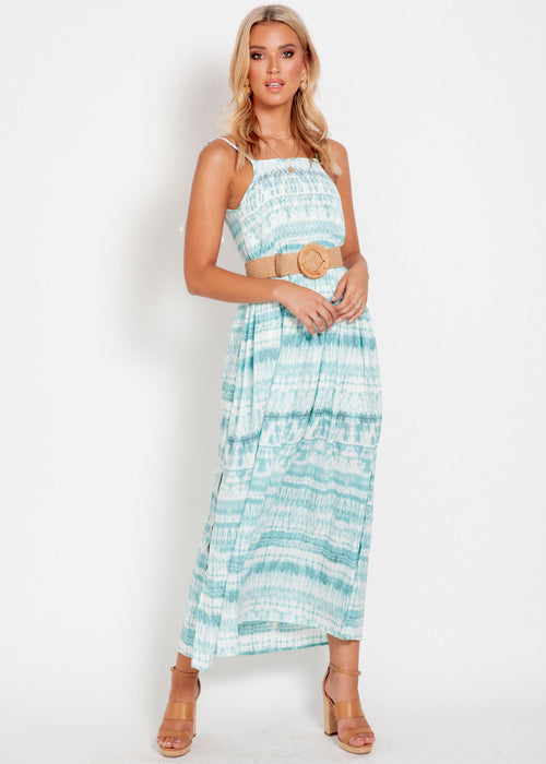 Flamenco Maxi Dress - Shibori