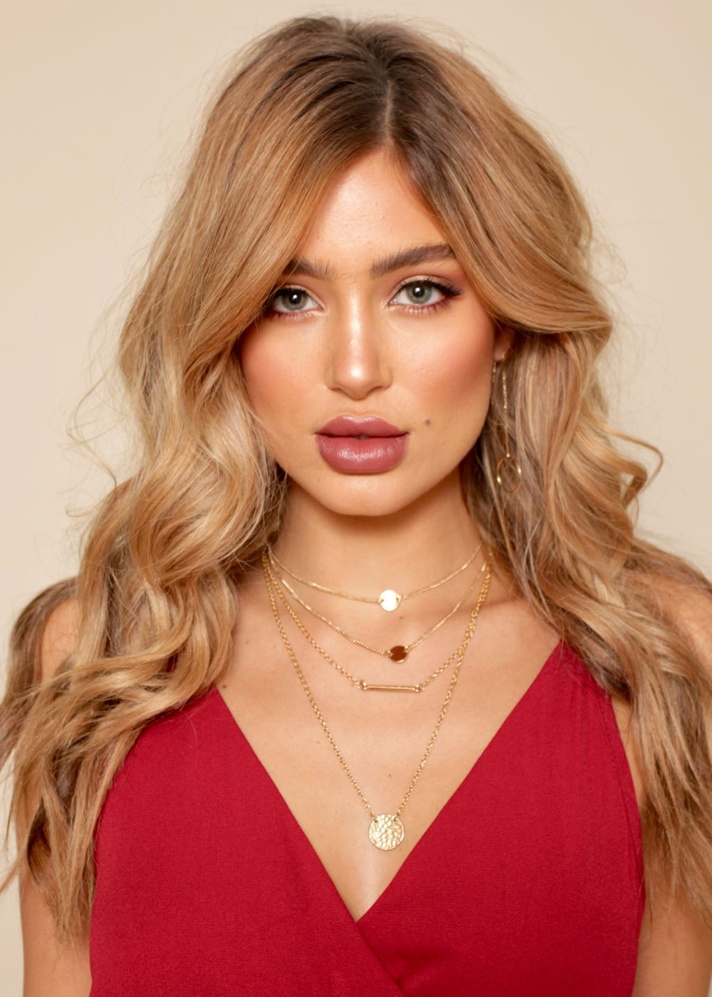 Dallas Choker - Gold