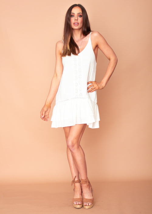 Avianna Dress - White