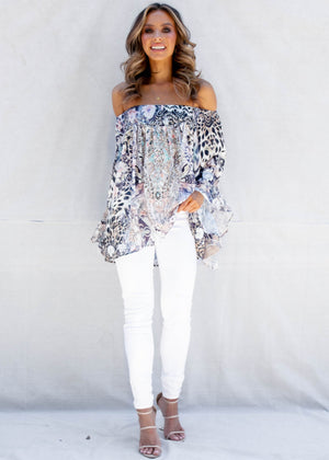 Shreya Off The Shoulder Blouse - Arizona