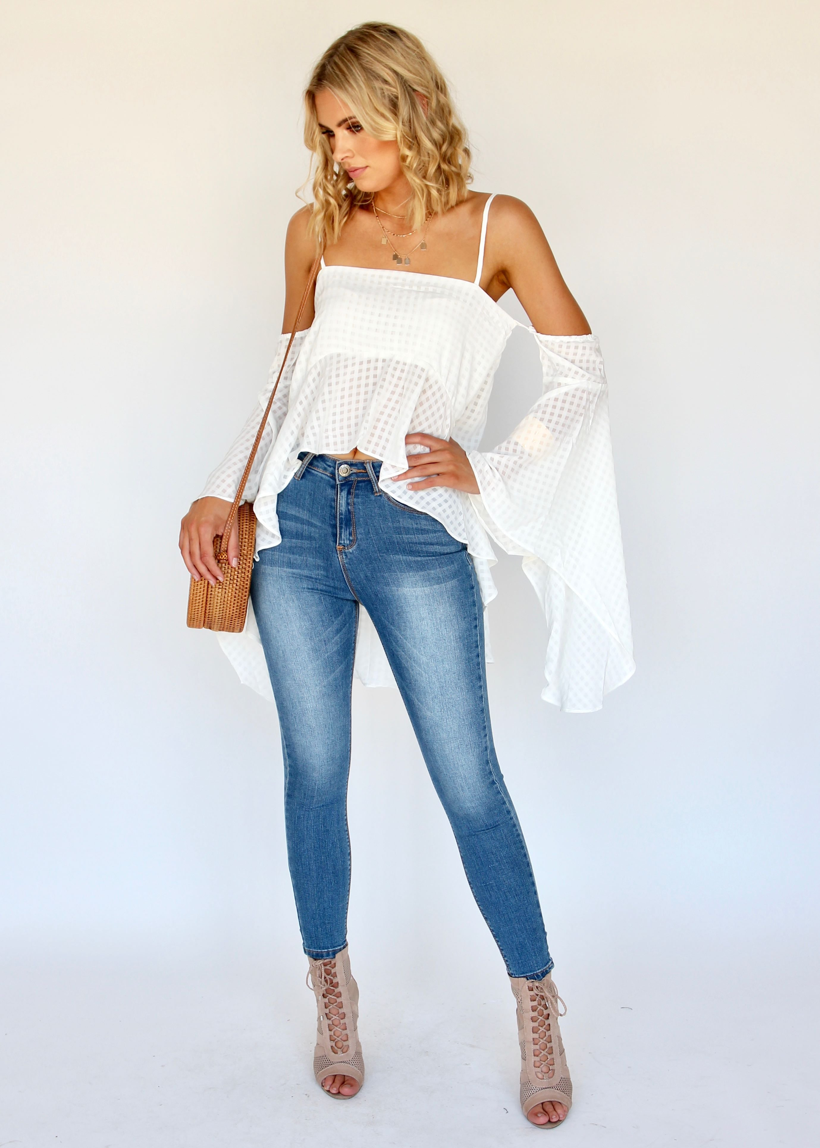 Real Deal Blouse - White