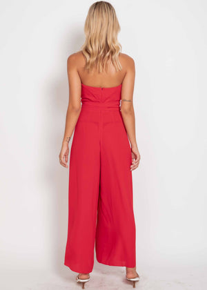 Xenon Pantsuit - Red