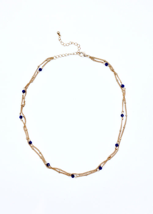 Tahnee Necklace - Blue