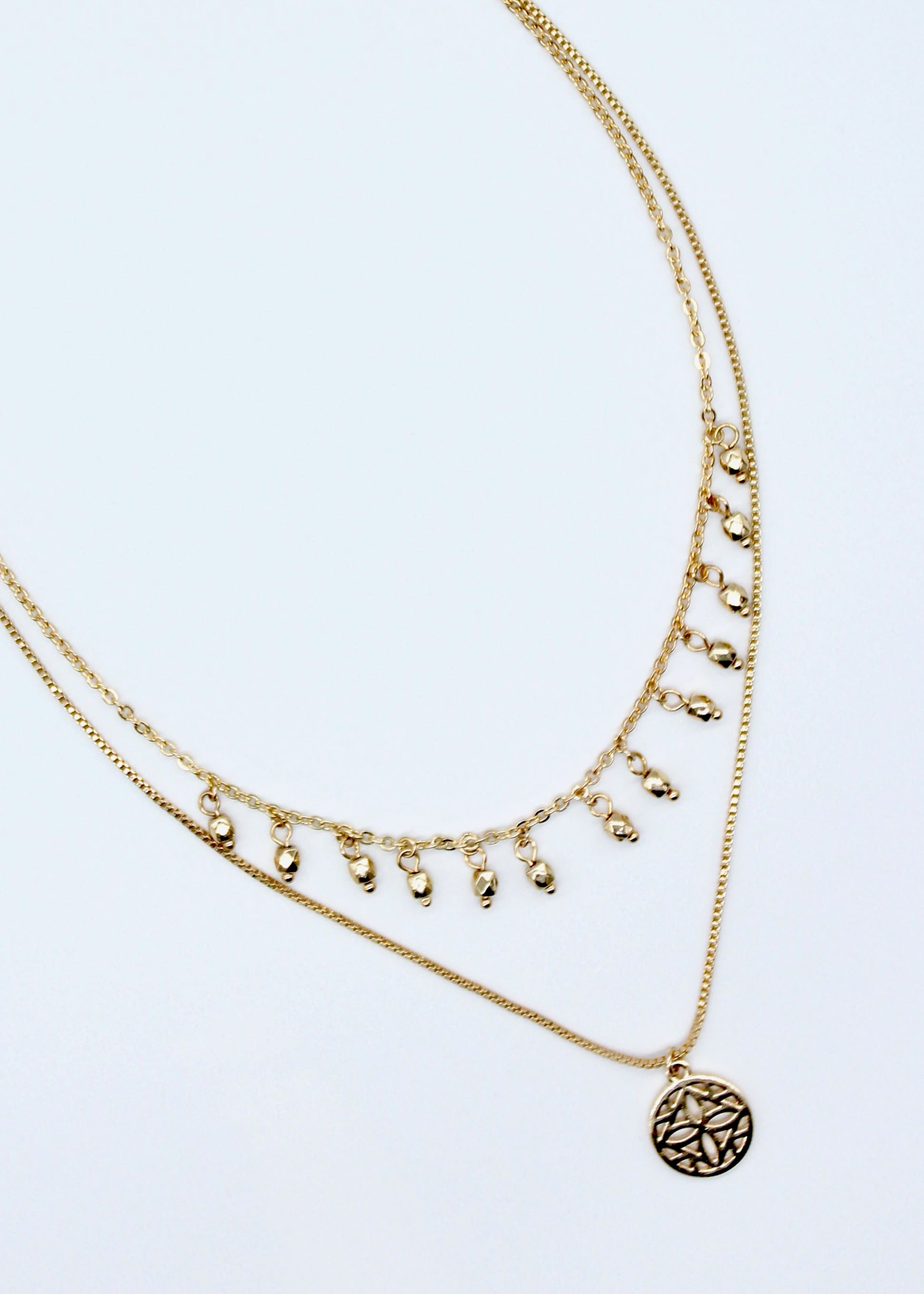 Relic Necklace - Gold