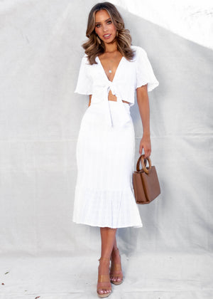 Lorena Set - White