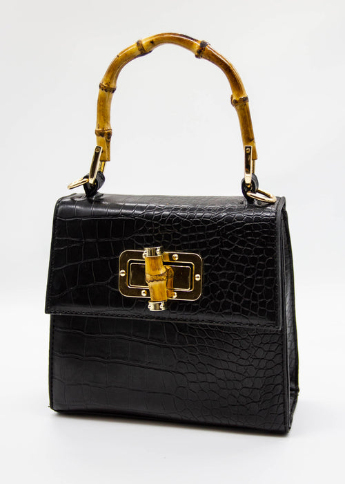 Bambi Bamboo Bag - Black