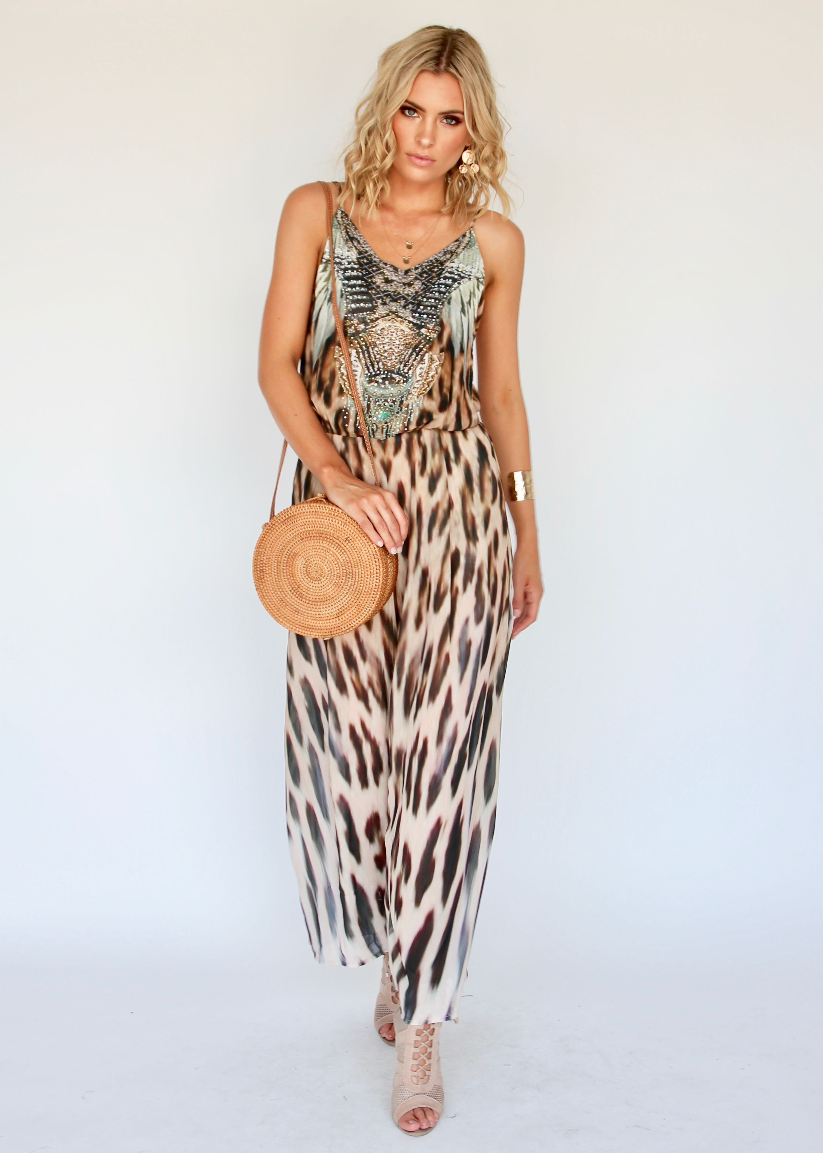 Double Up Pantsuit - Africa