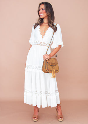 Jelena Maxi Dress - White