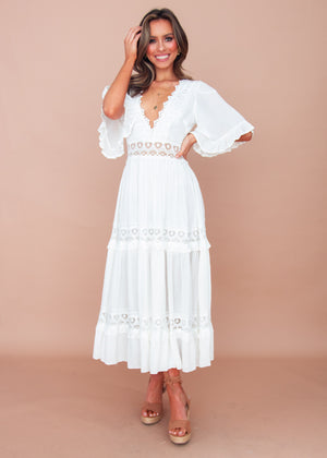 Women's Jelena Maxi Dress - White
