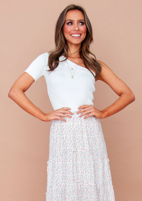 Women's Elijah Knit Top - White