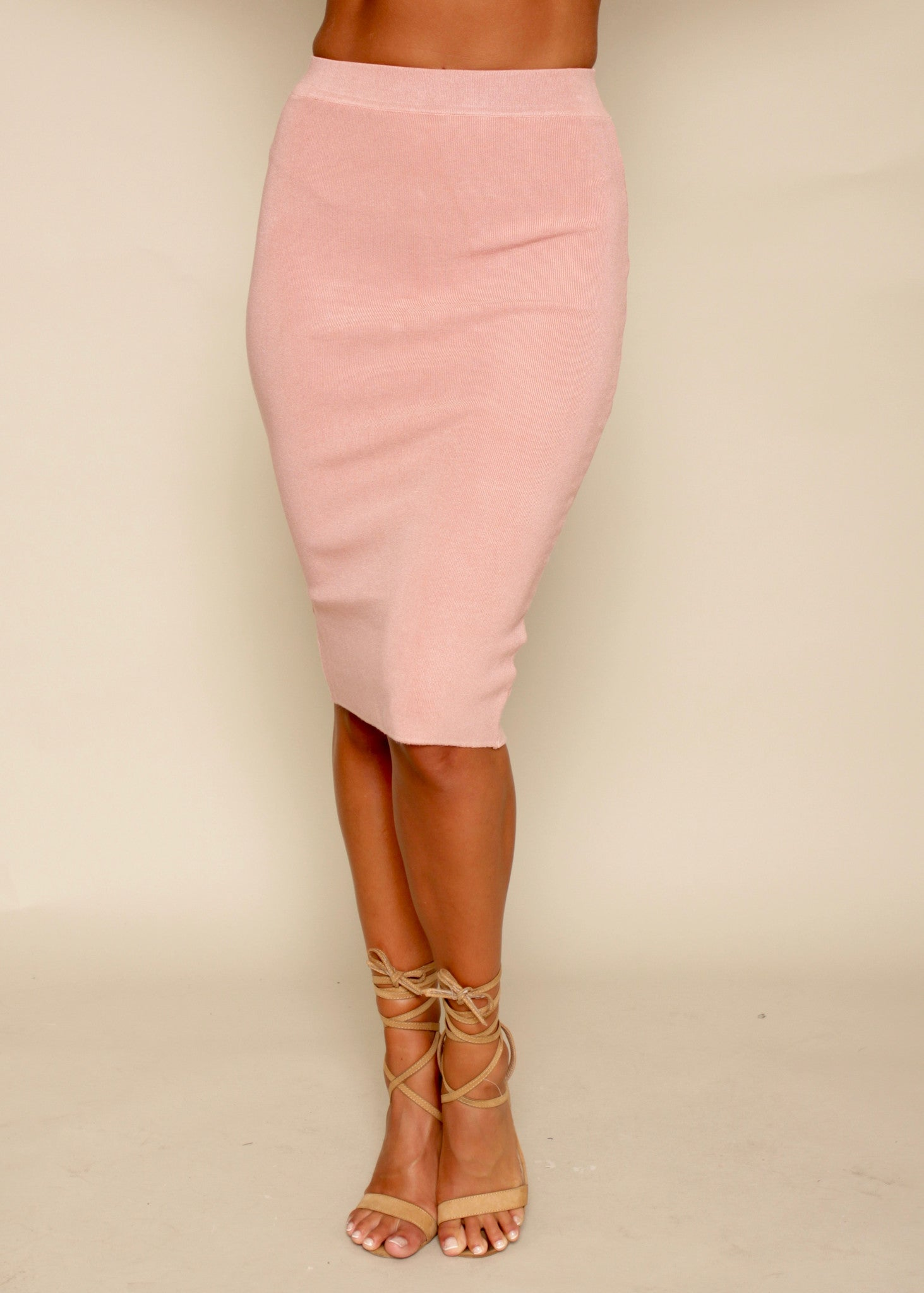 Mile High Skirt - Blush