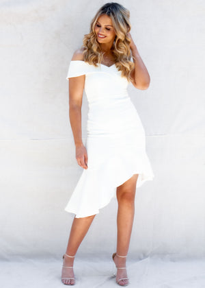 Jadyn Dress - White
