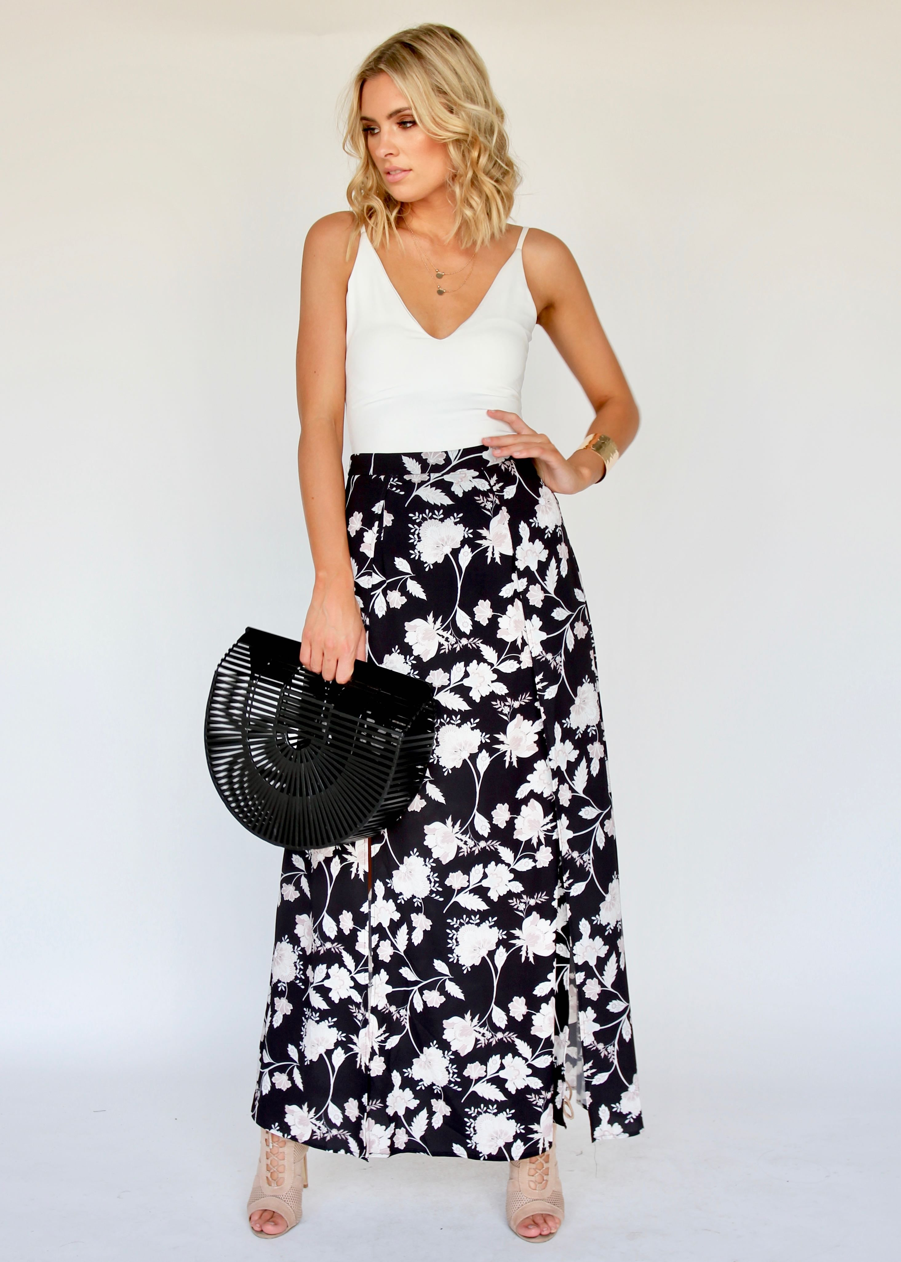 For You And I Skirt - Gypsy Black