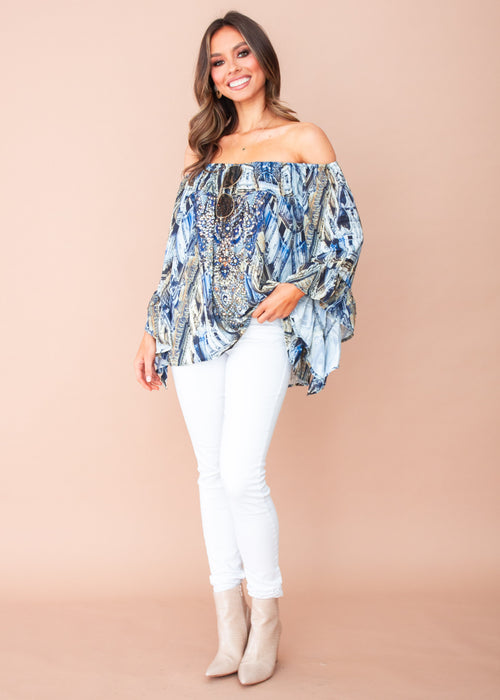 Shreya Off The Shoulder Blouse - Lombardy