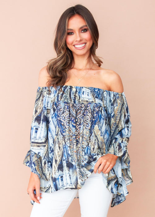 Women's Shreya Off The Shoulder Blouse - Lombardy