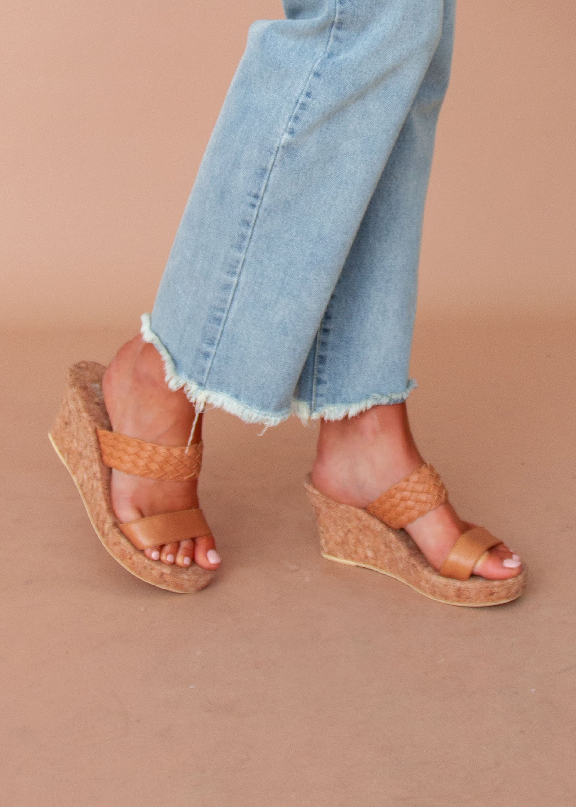 Women's Amaya Wedge - Tan