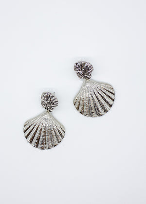 By The Sea Earrings - Silver