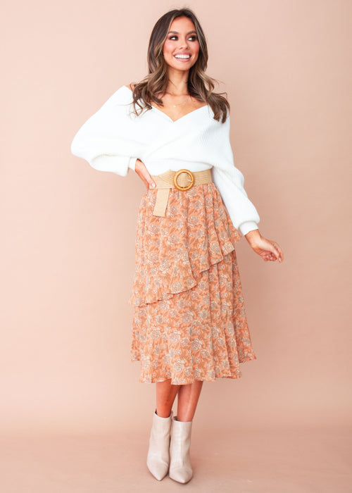 Women's Quick Love Midi Skirt - Marigold