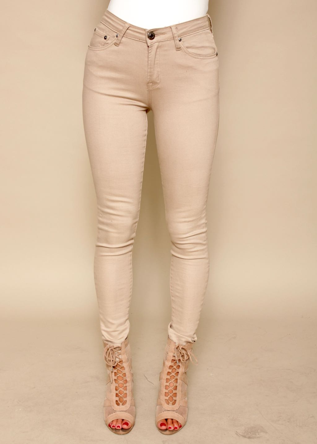 Tunnel Vision Jeans - Fawn