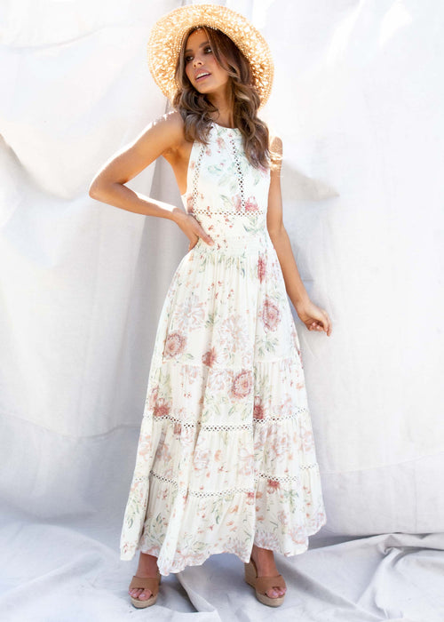 Break Of Dawn Maxi Dress - Marabella