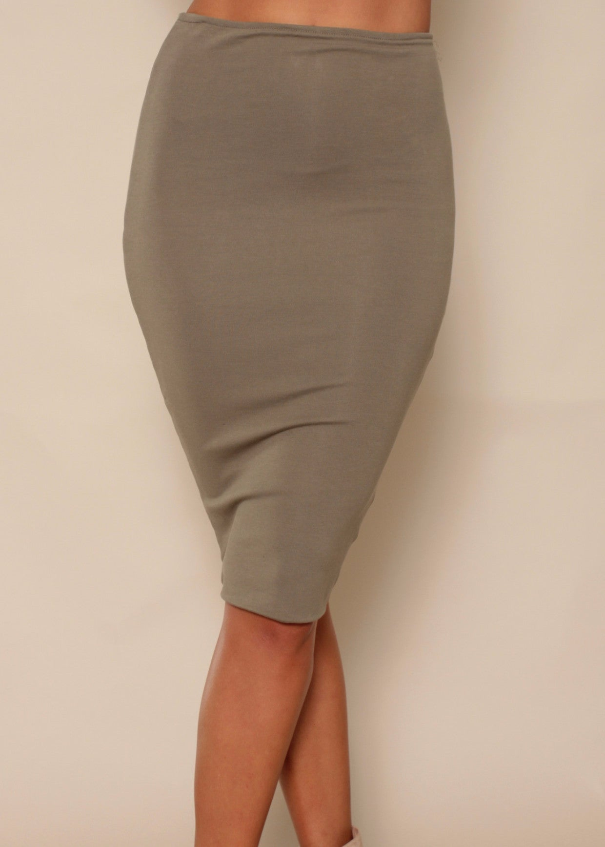 For Keeps Skirt - Khaki
