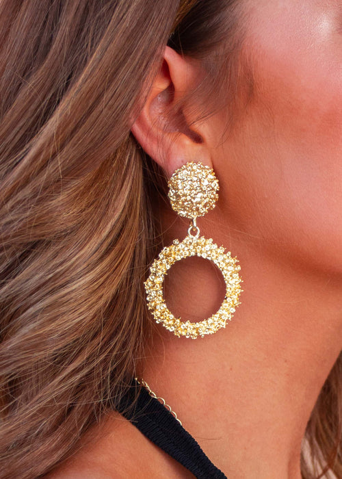 Lustre Earrings - Gold