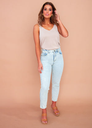 Women's Sezzie Jeans - Faded Blue